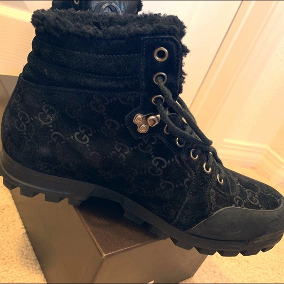 Gucci Shoes | Gucci Fur Lined Boots